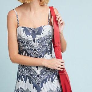 NWT Anthropologie Naomi Printed Dress